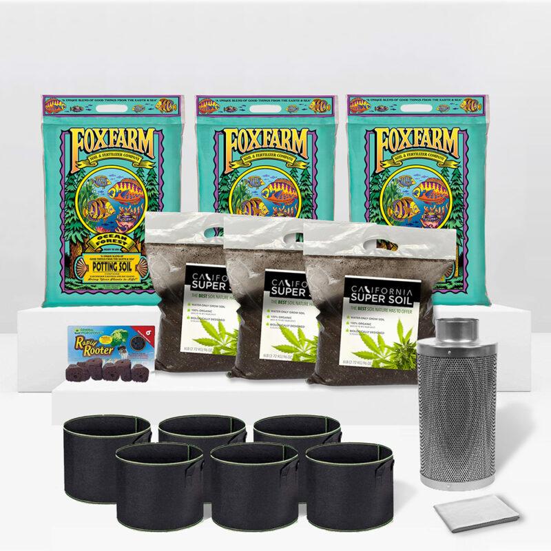 6 PLANT SOIL KIT