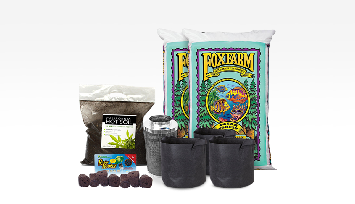 6 Plant Soil Reload Kit