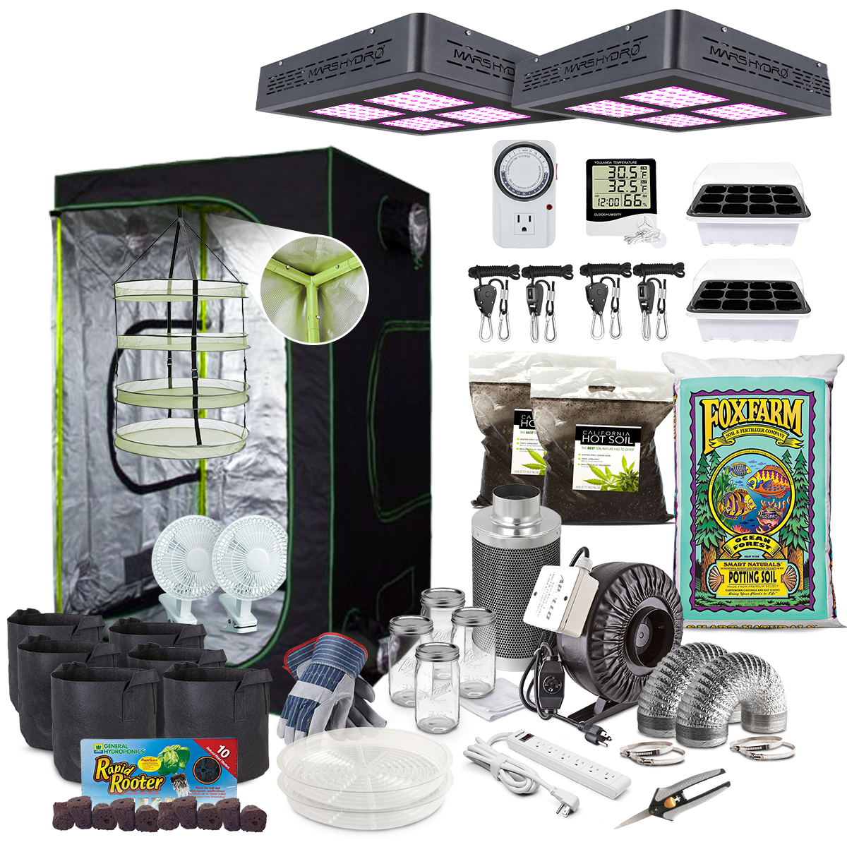 advanced grow kits
